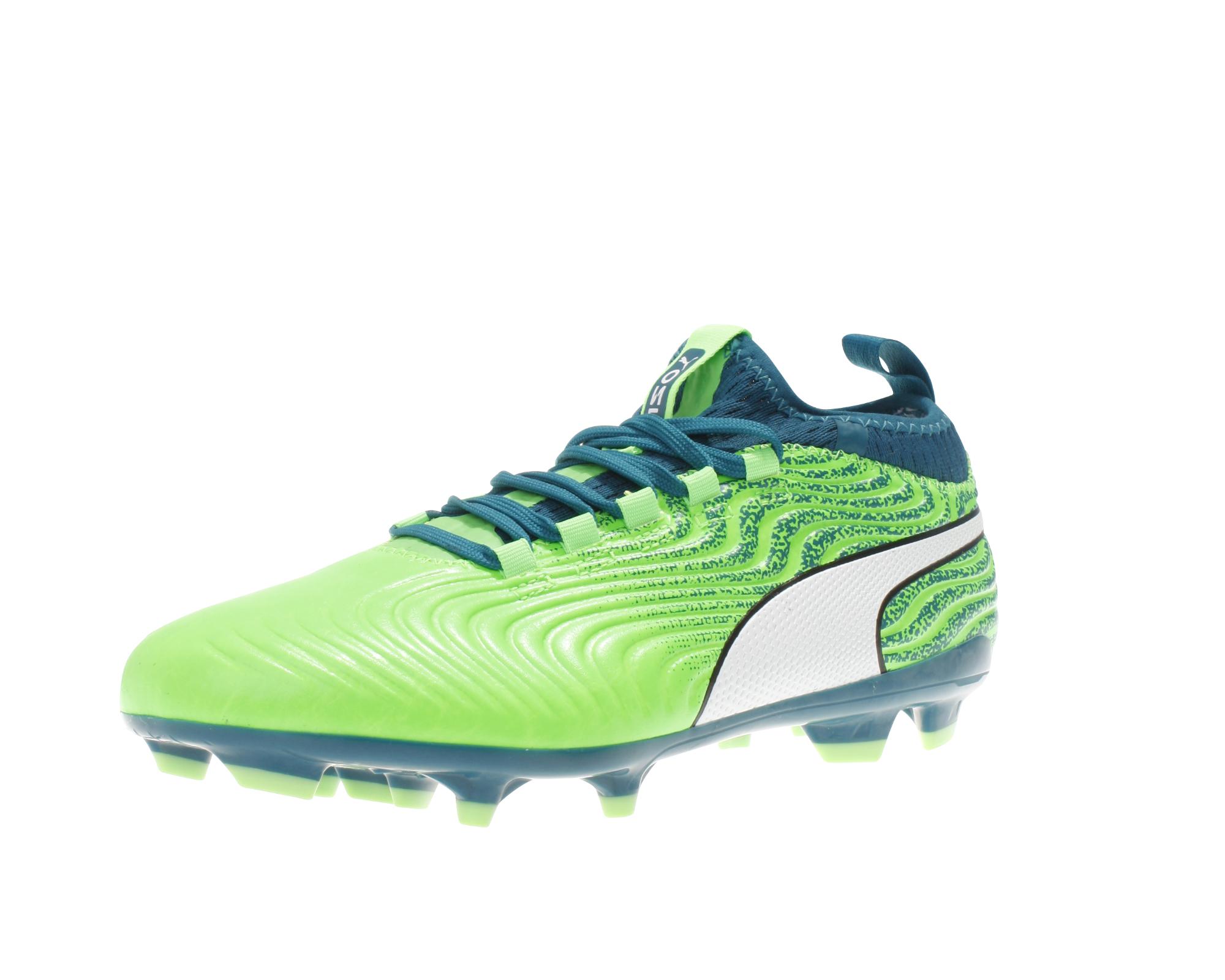 Details zu Puma Herren Fußball Schuhe Puma One 18.3 Syn FG Sohle Rasen Schuh NEU Nocken