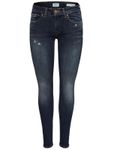 Only Damen Jeans-Hose Skinny onlAlba Regular blau [4]
