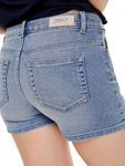 Only Damen Jeans Hotpants Shorts onlCarmen hellblau [5]