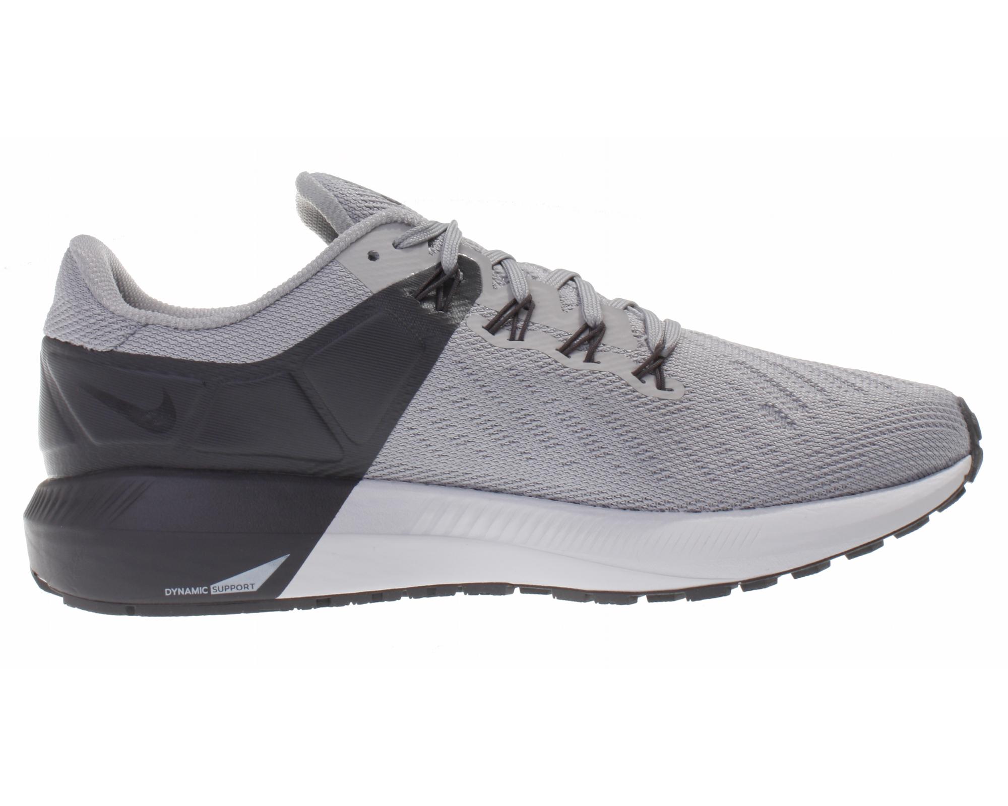 Details zu Nike Herren Freizeit Schuhe Air Zoom Structure Schuhe 22 Low Top Sneaker grau