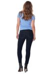 Only Damen Jeans-Hose Regular High Waist PushUp Skinny Stretch Slim dunkel-blau [5]