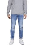 Jack & Jones Herren Hose Slim-Jeans jjTim Original AM 781 [1]