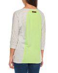 Naketano Damen T-Shirt in lang kurz und 3/4 Arm melangeiert weiche softe Top`s [4]