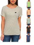 Naketano Damen T-Shirt in lang kurz und 3/4 Arm melangeiert weiche softe Top`s [1]