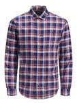 Jack & Jones Herren Hemd Langarm kariert JprSouthgate Shirt L/S One Pocket Exp [4]