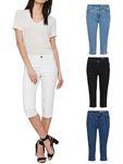 Vero Moda Damen Jeans vmHot Knickerbocker 7/8 Länge [1]