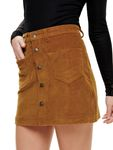 Only Damen kurzer Kord Rock onlAmazing Corduroy [5]