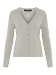 Vero Moda Damen Basic Cardigan V-Neck VmHappy Strickjacke [4]