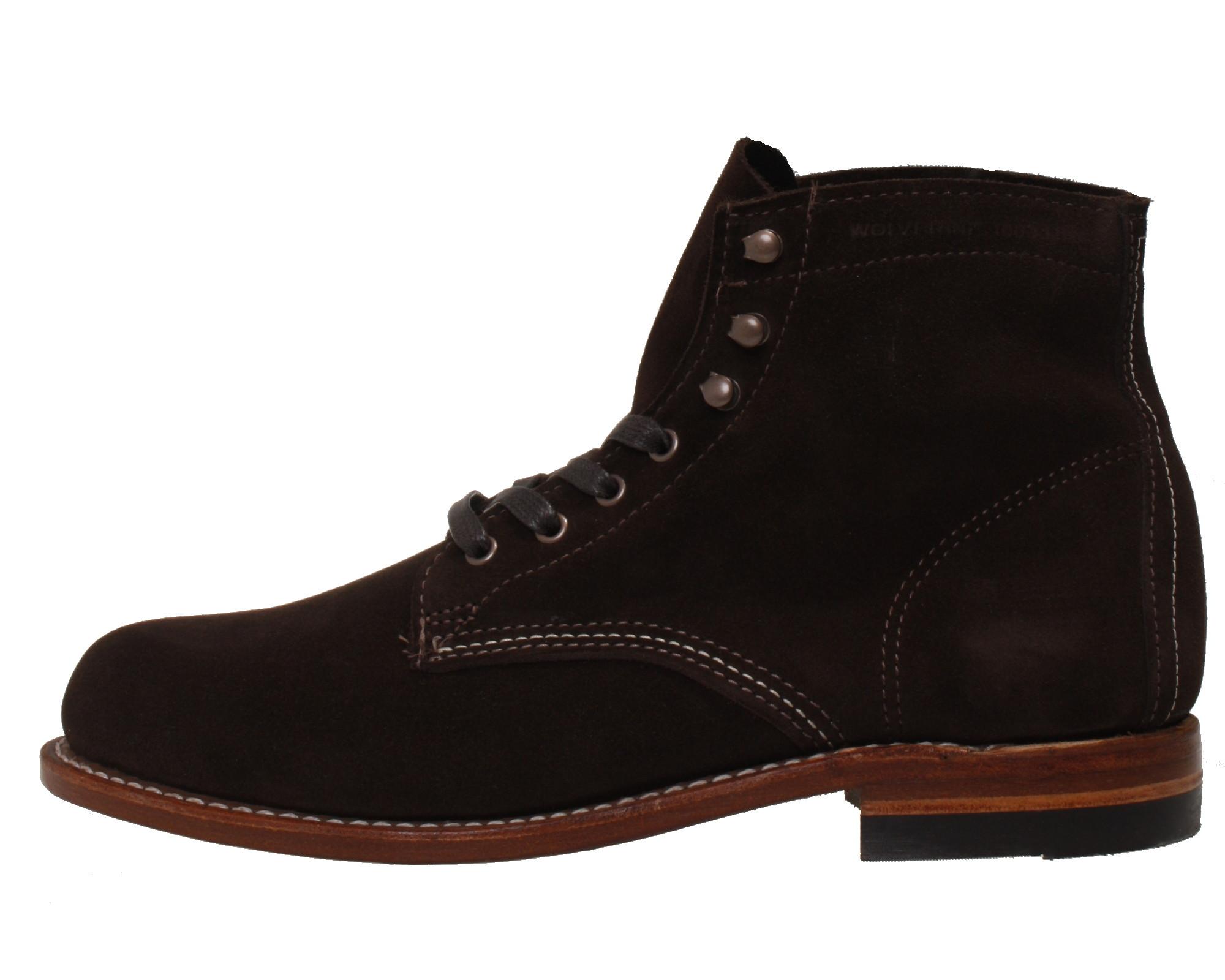 wholesale dealer 28182 63e14 Wolverine Herren Schuhe1000 Mile Boot Leder-Stiefel braun W40093