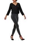 Only Damen Jeans-Hose onlKendell Regular Skinny grau [4]