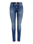 Only Damen Jeans-Hose OnlCarmen Regular Skinny blau [1]