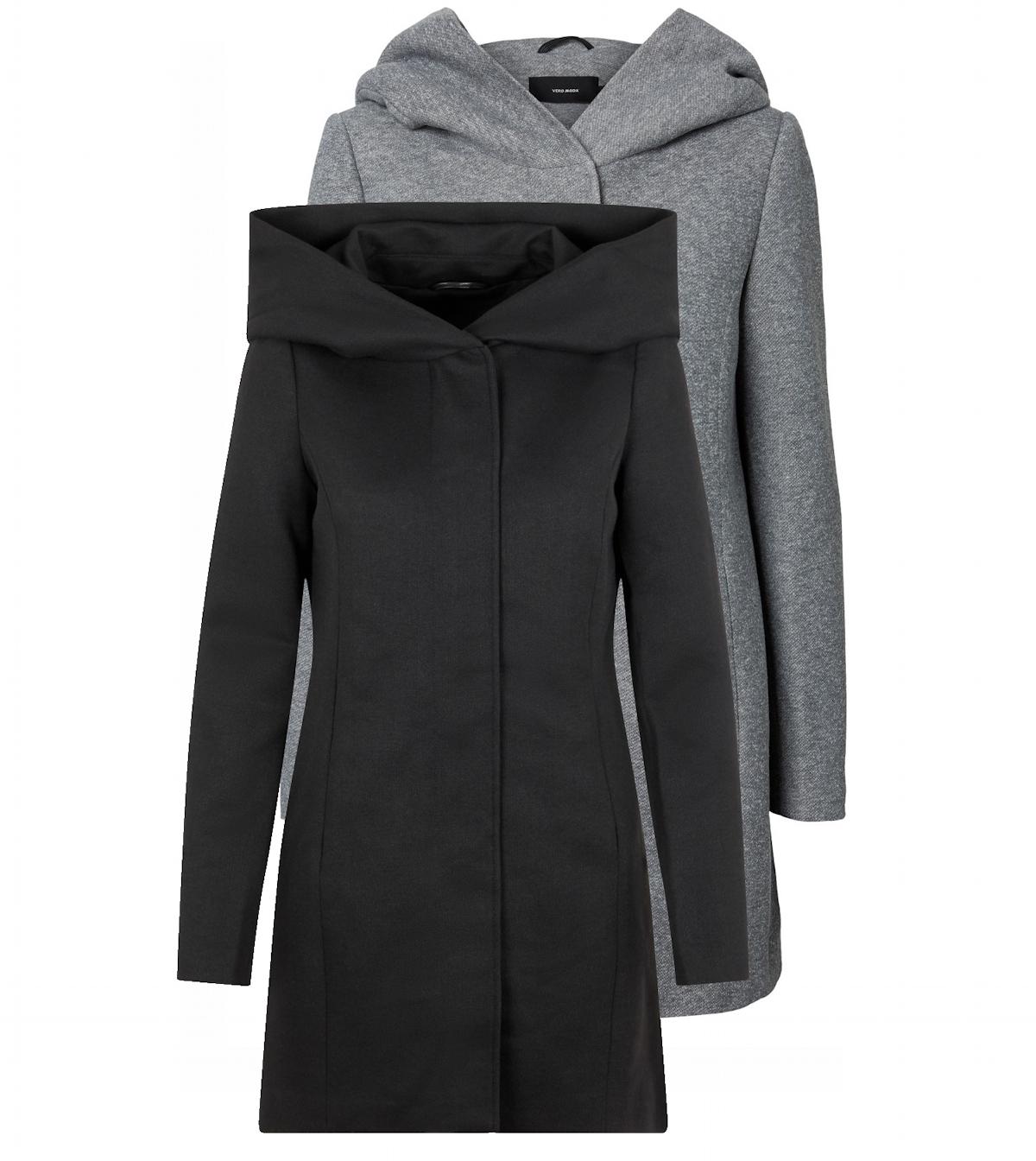 Vero Moda Damenjacke Jacke Mantel Wolljacke Winterjacke Kurzmantel Color Mix
