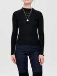 Only Damen Onlemma L/S High Neck Top JRS Langarmshirt  [4]