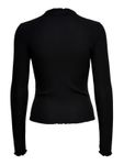 Only Damen Onlemma L/S High Neck Top JRS Langarmshirt  [2]