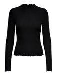 Only Damen Onlemma L/S High Neck Top JRS Langarmshirt  [3]