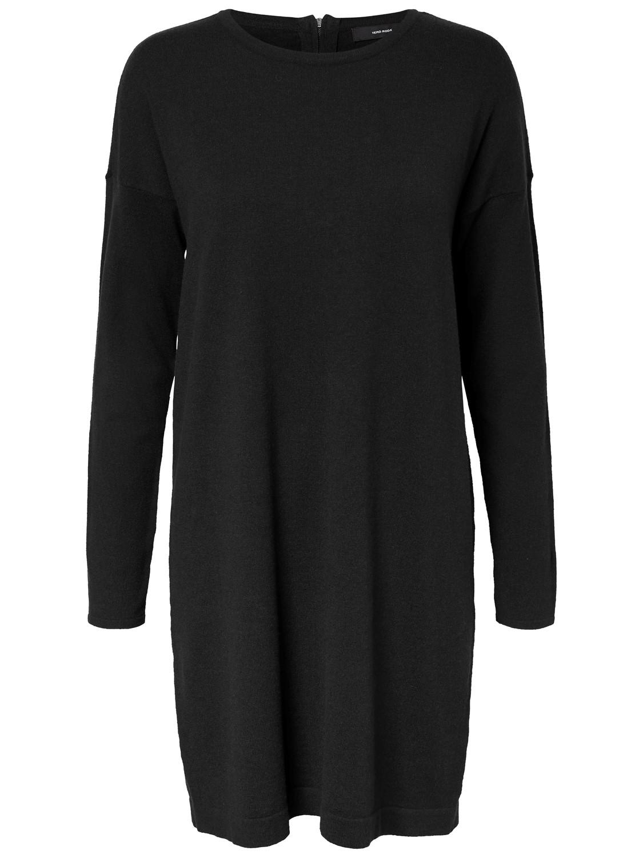 premium selection 95e2a 3018c Vero Moda Damen Strick-Kleid langarm schwarz XS S M L XL ...
