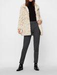 Vero Moda Damen Vmcurl High Neck Faux Fur Jacket Jacke Kunstfell [2]
