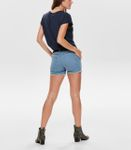 Only Damen kurze Jeans-Hose Shorts in blau schwarz [3]