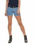 Only Damen kurze Jeans-Hose Shorts in blau schwarz [2]