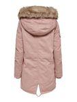 Only Damen Winter Mantel OnlMay Canvas Parka Jacke Fellkapuze [3]