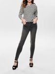 Only Damen Hose Skinny Jeans Onlanne K Mid Bund mittel hoch [3]