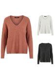 Vero Moda Damen Pulli Vmblakely V-Neck Rib Blouse Pullover [1]