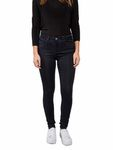 Pieces Damen Jeanshose Jeggings in High Waist - pcHighSkin dunkel-blau [1]