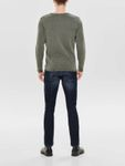 Only & Sons Herren Sweater Pullover 2 Wash Crew Neck Knit  [5]