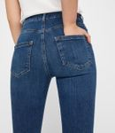 Pieces Damen Skinny Jeans-Hose High Waist Jeggings blau [5]