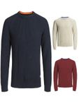 Jack & Jones Herren Pullover JorRib Knit Crew Neck [1]