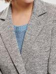 ONLY Damen Mantel Onlcarrie Mel Coat Cc Otw melange Knöpfe [4]