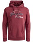 Jack & Jones Herren Pullover JjeLogo Sweat Hood - Plus Size [3]