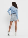 Only Damen Rock in Jeans-Rock OnlRose Life Ashape Skirt [4]