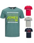 Jack & Jones Herren T-Shirt Jco Sans - Casual Shirt in Rundhals und kurzarm [1]