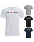 Jack & Jones Herren T- Shirt mit Logo Motiv - in Rundhals und kurzarm [1]