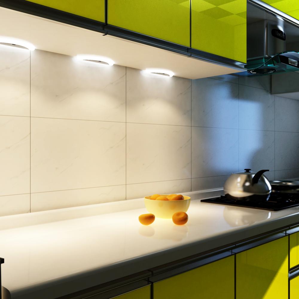 Detalles de La Luz De Cocina LED Sensor Set Lámpara Empotrada Foco