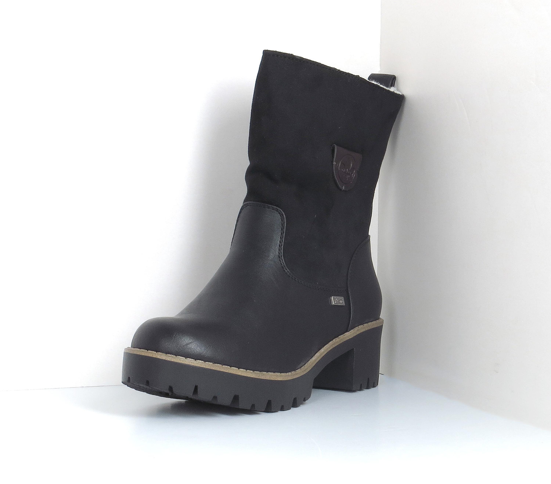 Rieker Damen Stiefel schwarz (96478 00) *warm; RiekerTex* | eBay SY4rM