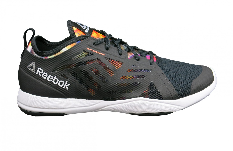 Details zu Reebok Damen Fitnessschuh Cardio Inspire Low 2.0 schwarz (V72388)