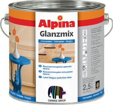 Alpina Glanzmix Buntlack RAL1021 Rapsgelb glänzend 2,5 Liter innen & außen