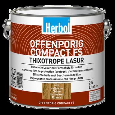 Herbol Offenporig Compact FS Thixotrope Lasur Farblos 0,97 L