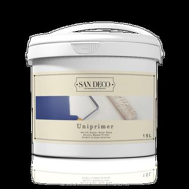 Sandeco Acryl Uniprimer für innen- und Aussenfassaden Weiß 12 KG