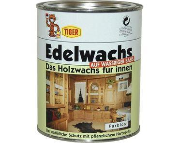 Tiger Edelwachs das Holzwachs für innen Farblos 1 Liter