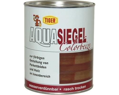 Tiger Aqua-Siegel Colorbeize zur Farbgebung Farblos Glänzend oder Tuchmatt 1 Liter Farbton Wählbar
