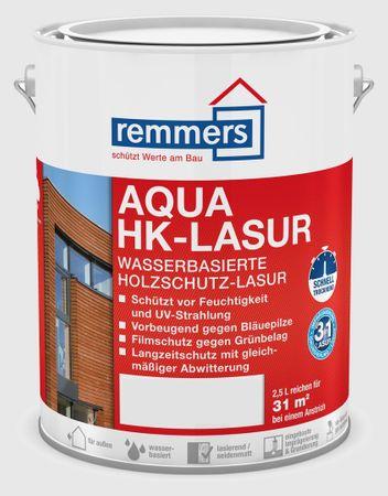 Remmers AQUA HK-Lasur - nussbaum Seidenmatt 2,5 ltr