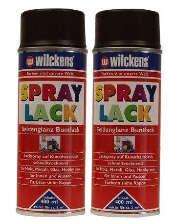 2 x Wilckens Spraylack Seidenglanz Buntlack 400ml – Bild 3