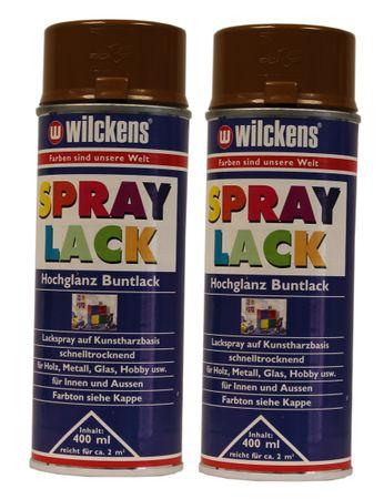 2 x Wilckens Spraylack Hochglanz Buntlack 400ml – Bild 7