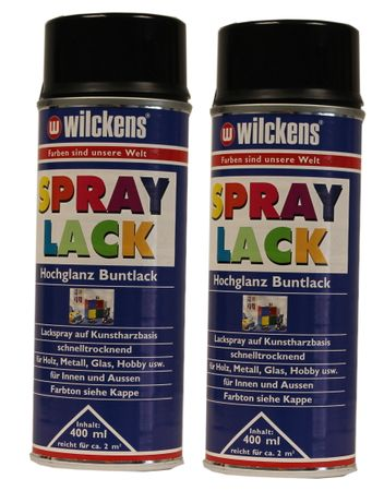 2 x Wilckens Spraylack Hochglanz Buntlack 400ml – Bild 4