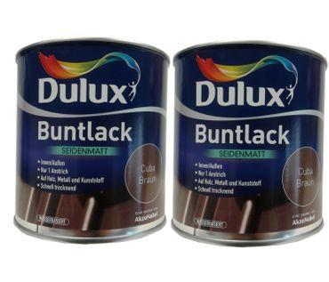 2 x 500ml Dulux Buntlack Seidenmatt für innen und außen 1 Liter Farbwahl – Bild 11