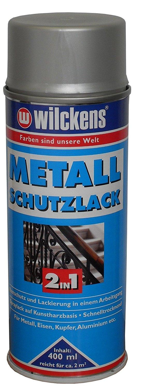 2 x Wilckens Metall-Schutzlack 2in1 hochglänzend Farbwahl 800 ml