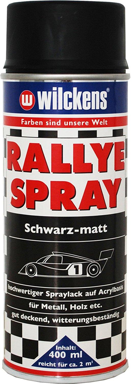 2 x Wilckens Rallye Spray für innen Schwarz matt bis glänzend  800 ml